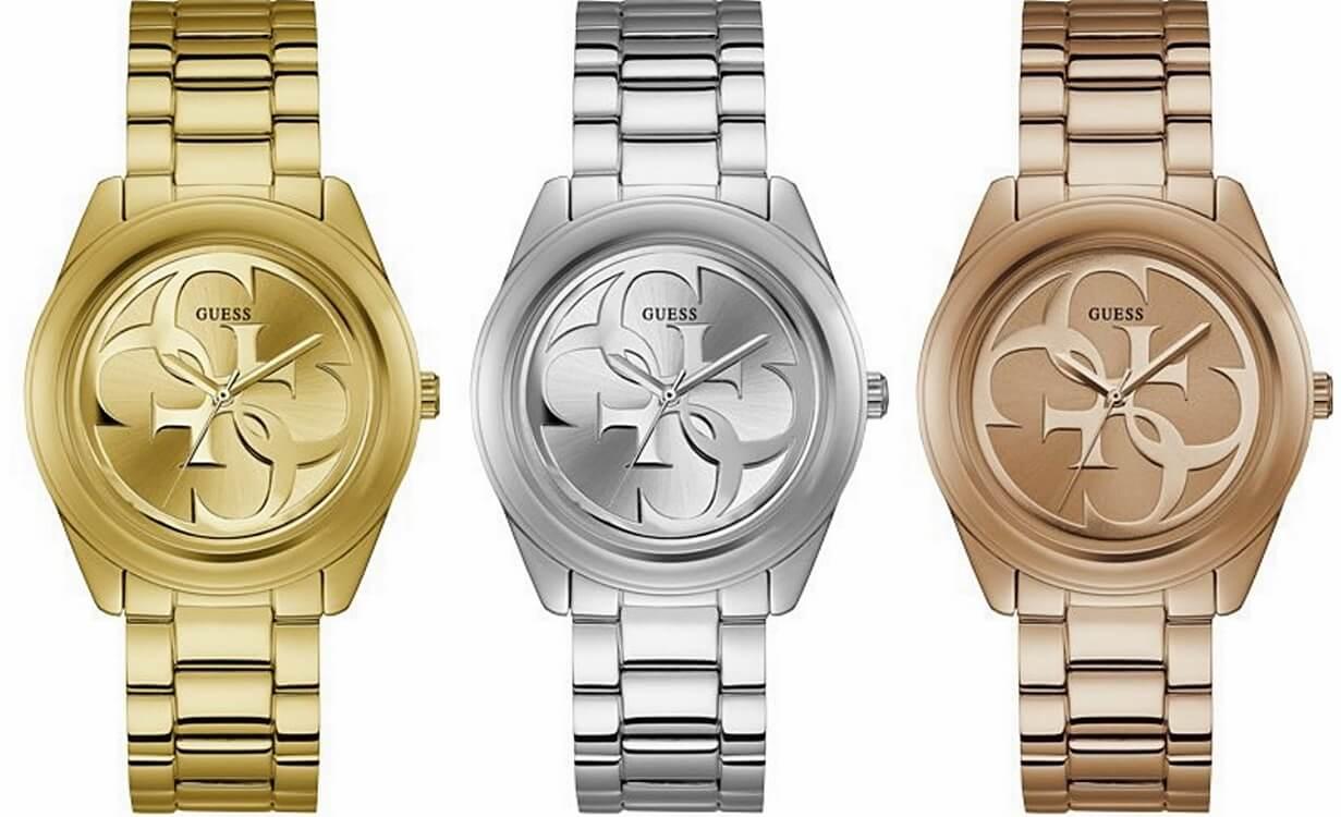 4c90caa37aa05 W kolekcji Tri Glitz uwagę przyciągają zegarki na plecionej bransolecie z  kryształkami Swarovskiego wokół koperty.